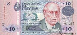 10 Pesos Uruguayos URUGUAY  1998 P.081a NEUF