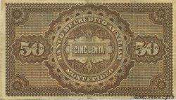 50 Pesos URUGUAY  1887 PS.165r TTB