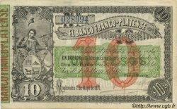 10 Pesos URUGUAY  1871 PS.171a TTB+