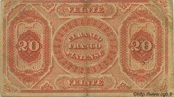 20 Pesos URUGUAY  1871 PS.173a TTB