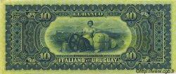 10 Pesos URUGUAY  1887 PS.212r SPL