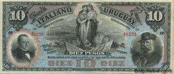 10 Pesos URUGUAY  1887 PS.212r pr.SPL