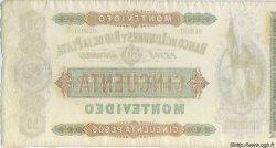 50 Pesos URUGUAY  1872 PS.238r SUP