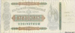 50 Pesos URUGUAY  1872 PS.238r SPL