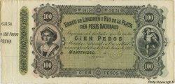 100 Pesos URUGUAY  1883 PS.245r SPL