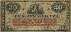 20 Centesimos URUGUAY  1865 PS.371 pr.TB