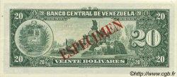 20 Bolivares VENEZUELA  1960 P.043S1 NEUF