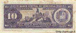 10 Bolivares VENEZUELA  1963 P.045a TTB+
