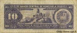 10 Bolivares VENEZUELA  1970 P.045g TB