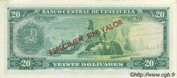 20 Bolivares VENEZUELA  1967 P.046s1 NEUF