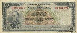 50 Bolivares VENEZUELA  1970 P.047f TTB