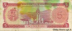 5 Bolivares VENEZUELA  1968 P.050a pr.TTB