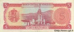 5 Bolivares VENEZUELA  1970 P.050d SUP