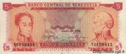 5 Bolivares VENEZUELA  1974 P.050h SUP