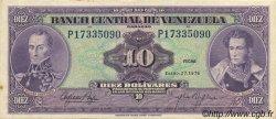 10 Bolivares VENEZUELA  1976 P.051e SUP+