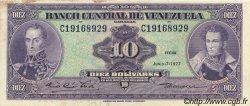 10 Bolivares VENEZUELA  1977 P.051f SUP