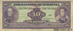 10 Bolivares VENEZUELA  1979 P.051g B à TB