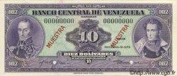 10 Bolivares VENEZUELA  1979 P.051s4 NEUF