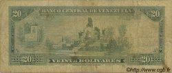 20 Bolivares VENEZUELA  1972 P.052b B