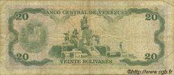 20 Bolivares VENEZUELA  1977 P.053b pr.TB