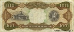 100 Bolivares VENEZUELA  1976 P.055d TB+
