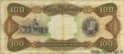 100 Bolivares VENEZUELA  1979 P.055f TB
