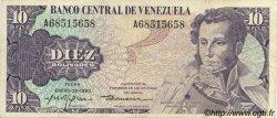 10 Bolivares VENEZUELA  1980 P.057a TTB+