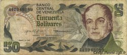 50 Bolivares VENEZUELA  1981 P.058 TB