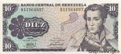 10 Bolivares VENEZUELA  1981 P.060a SPL