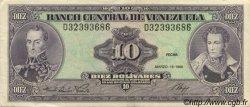 10 Bolivares VENEZUELA  1986 P.061a SUP