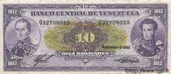 10 Bolivares VENEZUELA  1988 P.062 pr.TTB