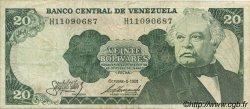 20 Bolivares VENEZUELA  1981 P.063a TB+
