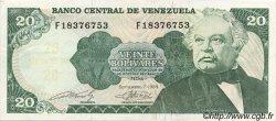 20 Bolivares VENEZUELA  1989 P.063b SUP