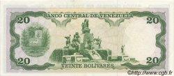 20 Bolivares VENEZUELA  1990 P.063c SUP