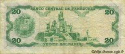 20 Bolivares VENEZUELA  1992 P.063c TB