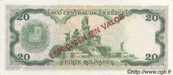 20 Bolivares VENEZUELA  1981 P.063s NEUF