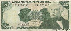 20 Bolivares VENEZUELA  1984 P.064 TB+