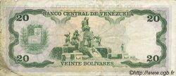 20 Bolivares VENEZUELA  1987 P.064A TTB