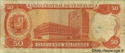 50 Bolivares VENEZUELA  1985 P.065a TB