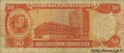 50 Bolivares VENEZUELA  1988 P.065b TB