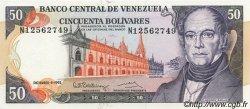 50 Bolivares VENEZUELA  1992 P.065d NEUF