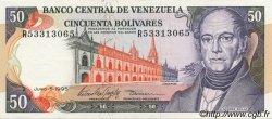 50 Bolivares VENEZUELA  1995 P.065e SPL