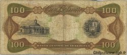 100 Bolivares VENEZUELA  1987 P.066a TB