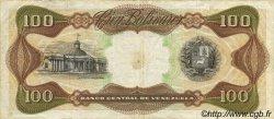100 Bolivares VENEZUELA  1989 P.066b TTB
