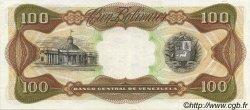 100 Bolivares VENEZUELA  1989 P.066b SUP+
