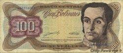 100 Bolivares VENEZUELA  1990 P.066c TB