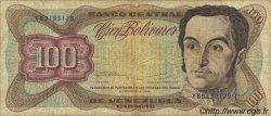 100 Bolivares VENEZUELA  1992 P.066e TB