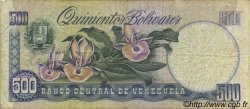 500 Bolivares VENEZUELA  1987 P.067b TB