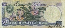 500 Bolivares VENEZUELA  1989 P.067c TB