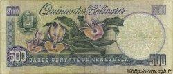 500 Bolivares VENEZUELA  1990 P.067d TB